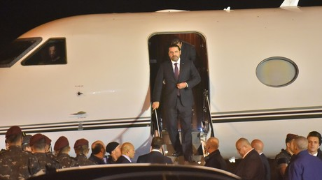 L'ancien Premier ministre Saad Hariri de retour au Liban après sa démission surprise depuis Riyad