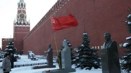 La tombe de Staline, près du Kremlin