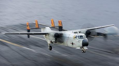 Un avion militaire C2-A Greyhound s'est écrasé en Asie. Trois personnes sont toujours disparues (image d'archive)