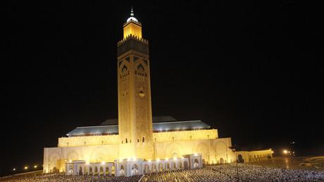 La mosquée Hassan II à Casablanca, en 2013, illustration