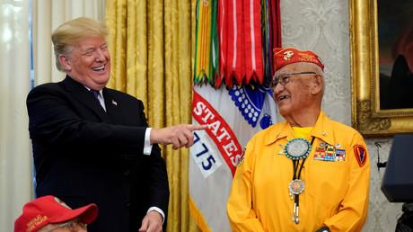 «Pocahontas» : la petite blague de Donald Trump dénoncée comme un «affront raciste» par l'opposition