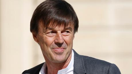 Nicolas Hulot, ministre de la Transition écologique