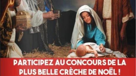 Le magazine municipal d'Hénin-Beaumont réagit à la décision de justice en lançant un concours de la plus belle crèche.