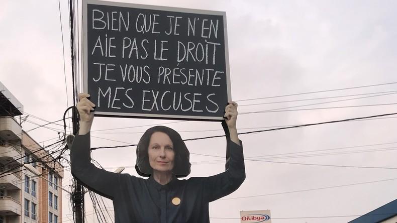 «Œuvre d'auto-glorification» : l'installation d'une artiste française au Cameroun détruite (VIDEO)