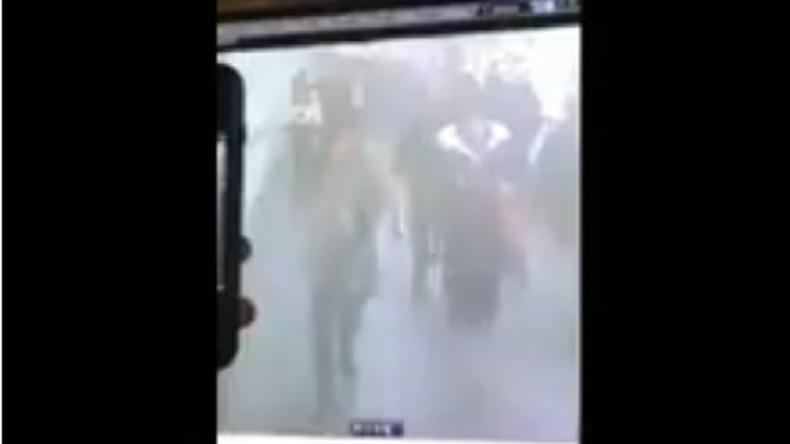 Premières images de l'attentat de Manhattan filmées par une caméra de surveillance (VIDEO CHOC)