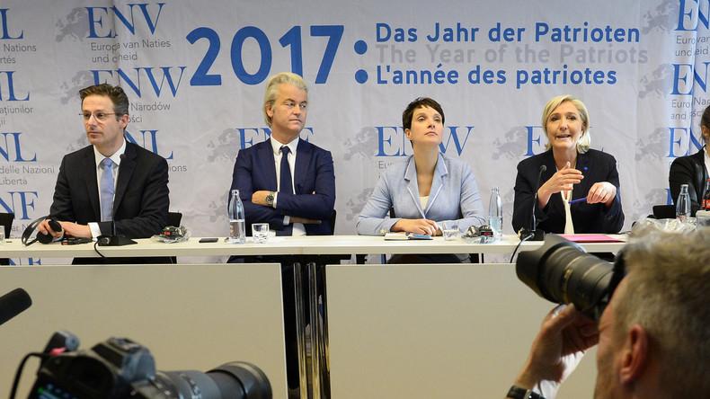 FN, AfD et Ligue du Nord : rencontre sous haute tension pour les nationalistes à Prague