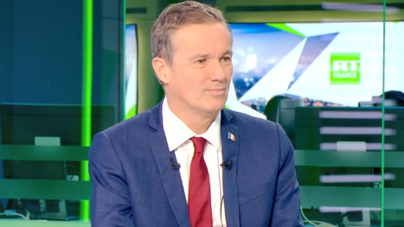 «L'OTAN se trompe de combat» : Nicolas Dupont-Aignan évoque l'actualité sur RT France (VIDEO)