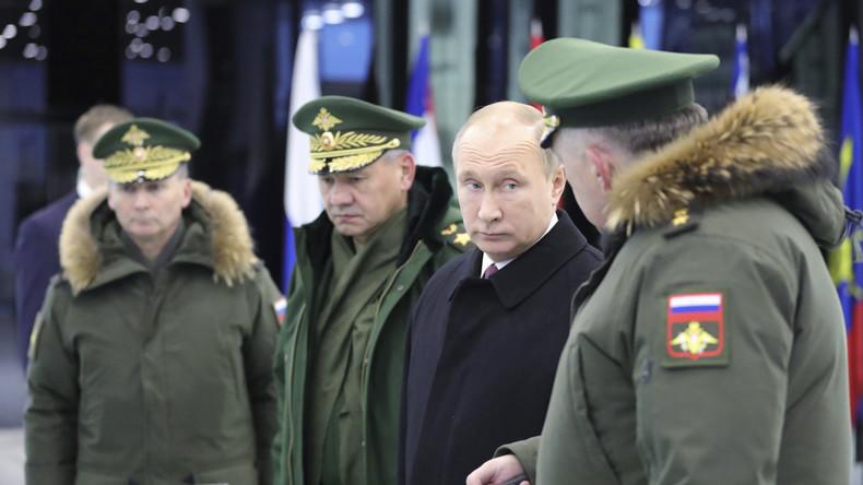 Le rôle de gendarme du monde ne fait «absolument pas partie» des projets de la Russie