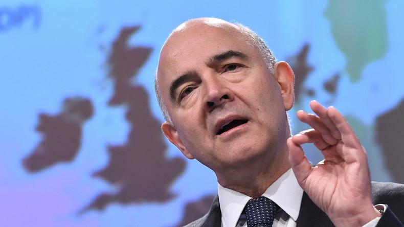 Pierre Moscovici a été sévèrement taclé par un quotidien économique allemand