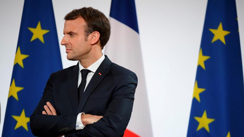 Durant ses vœux de Nouvel An, Macron s'est adressé directement à ses «concitoyens européens»