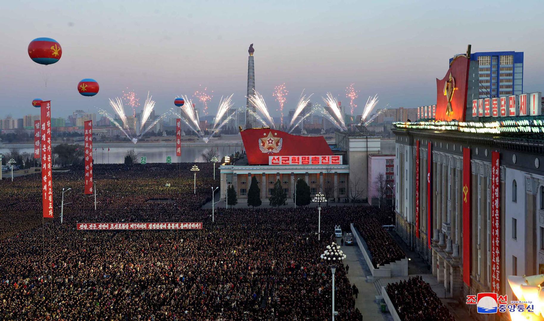 La Corée du Nord célèbre en grande pompe son nouveau statut d'«Etat nucléaire» (IMAGES)
