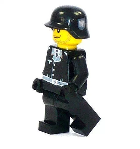 Scandale : des figurines Lego stylisées aux couleurs de la Wehrmacht vendues sur Amazon (IMAGES)