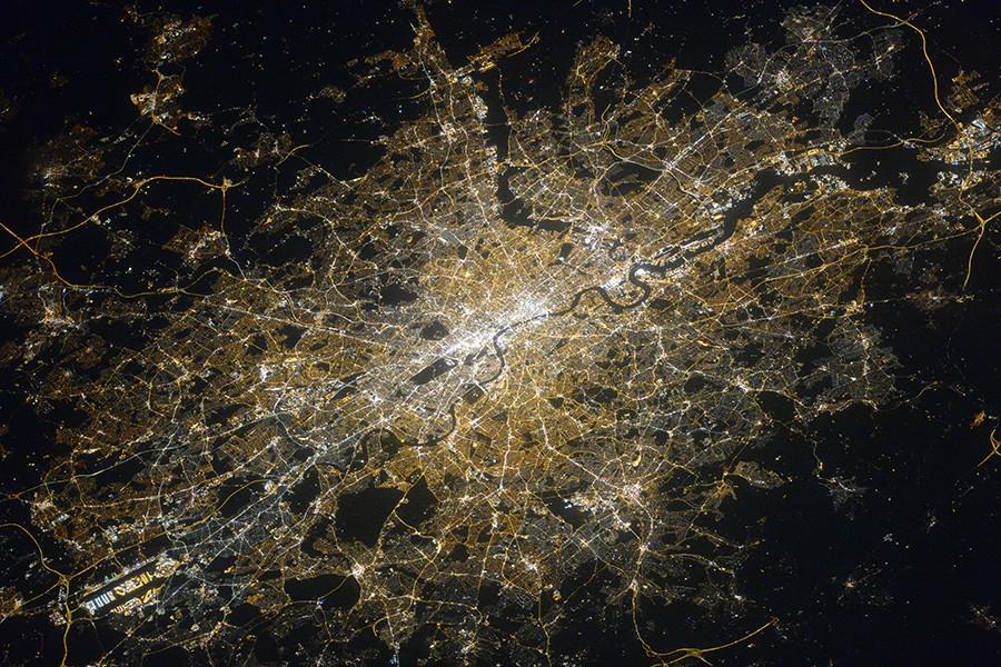 Un cosmonaute immortalise des villes hôtes de la Coupe du monde de football depuis l'ISS (IMAGES)
