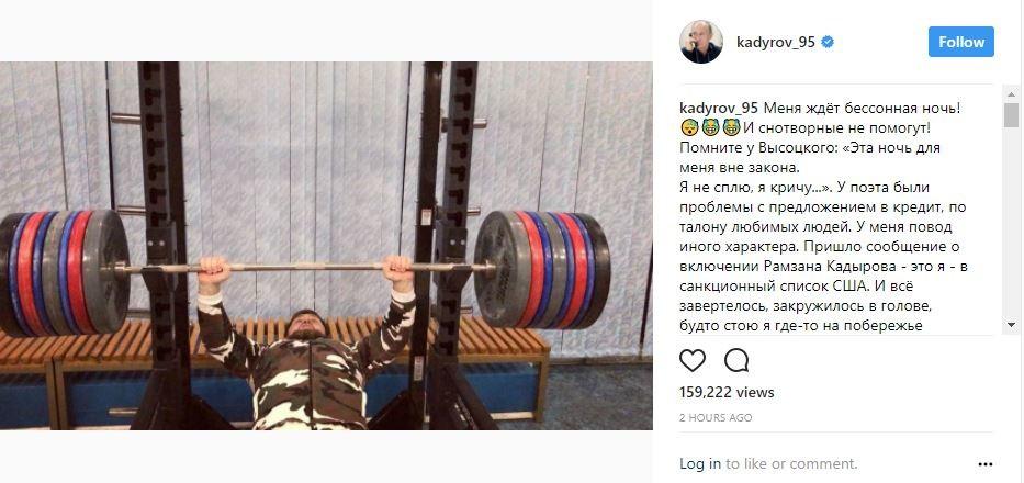 Frappé par des sanctions américaines, Kadyrov se dit «fier de ne pas convenir» à Washington