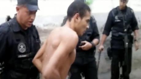 Prisonnier victime de mauvais traitements dans une prison au Brésil, capture d'écran YouTube, DR