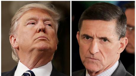 Donald Trump affirme qu'il n'y a eu aucune collusion avec la Russie et ne se dit pas inquiet après l'inculpation de son ex-conseiller Michael Flynn