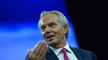 Tony Blair à New York en septembre dernier