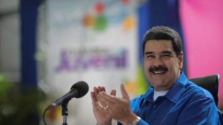 Nicolas Maduro en discours à Caracas le 1er décembre