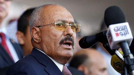 L'ex-président yéménite Ali Abdallah Saleh