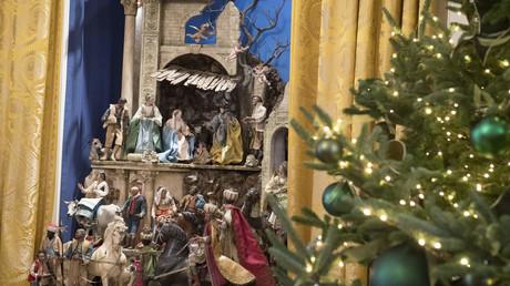 Une crèche de Noël