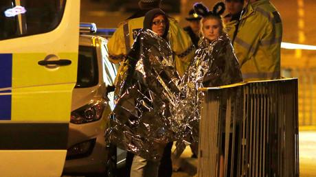 Rescapés de l'attentat de Manchester le 23 juin 2017, photo ©Andrew Yates/Reuters