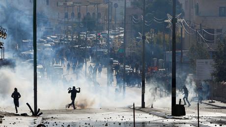 Des affrontements ont éclaté à Bethléem et Ramallah