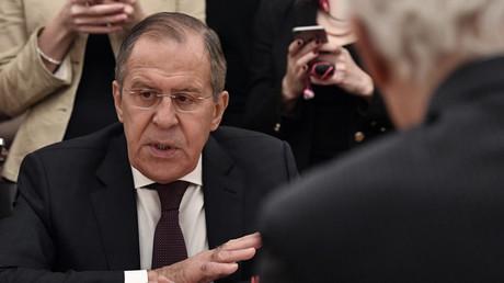 Le ministre des Affaires étrangères Sergueï Lavrov