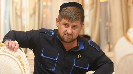Le président de la république tchétchène Ramzan Kadyrov.