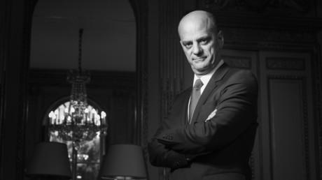 Jean-Michel Blanquer lors d'une séance photo à Paris en juillet 2017.