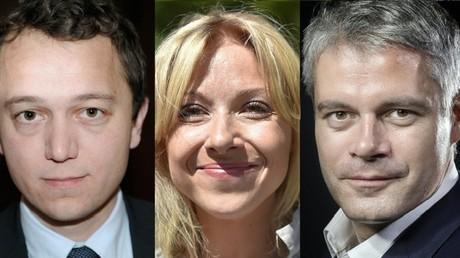 Maël de Calan, Florence Portelli, Laurent Wauquiez. Tous les trois prétendent à la présidence des Républicains.