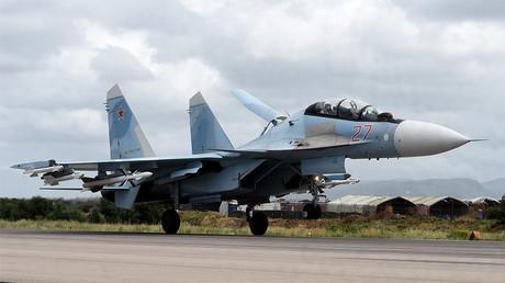 Un Sukhoi Su-35