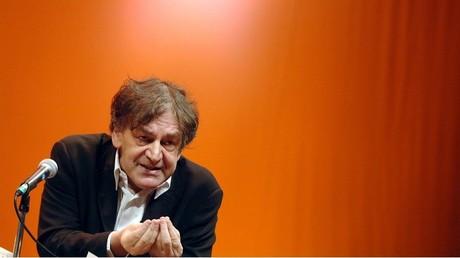 Illustration : Alain Finkielkraut lors d'un débat