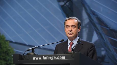 L'ancien président de Lafarge, Bruno Lafont