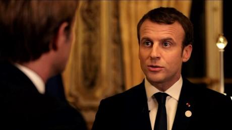 Le président a accordé une longue interview au service public le 17 décembre