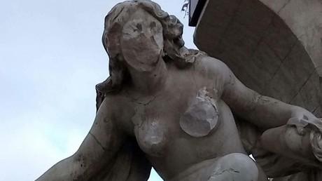 La statue d'Aïn Fouara (Sétif) vandalisée