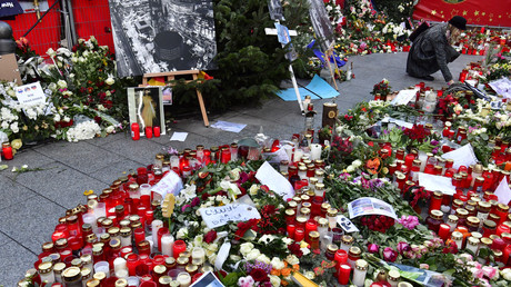 Le mémorial pour les victimes de l'attaque de Berlin, le 31 décembre 2016 (image d'illustration)