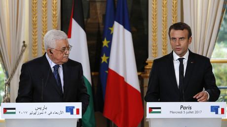 Le président palestinien Mahmoud Abbas va être reçu par Emmanuel Macron