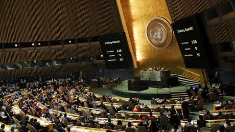 L'Assemblée générale de l'ONU le 21 décembre condamne la décision de Donald Trump de reconnaître Jérusalem comme la capitale d'Israël