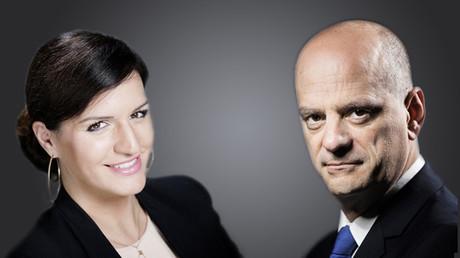 Marlène Schiappa et Jean-Michel Blanquer