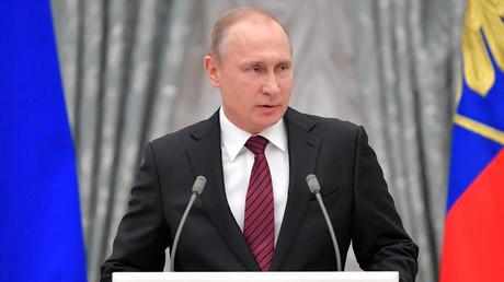Le président russe Vladimir Poutine (photo d'illustration)