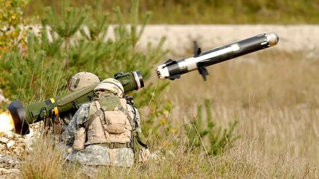 Un lance-missiles antichar portable américain Javelin (image d'illustration)