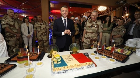 Emmanuel Macron au Niger