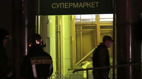 Le supermarché frappé par une explosion le 27 décembre.