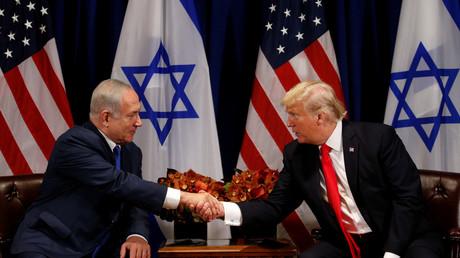 Rencontre entre le président américain et le Premier ministre israélien en septembre 2017 à New York, illustration