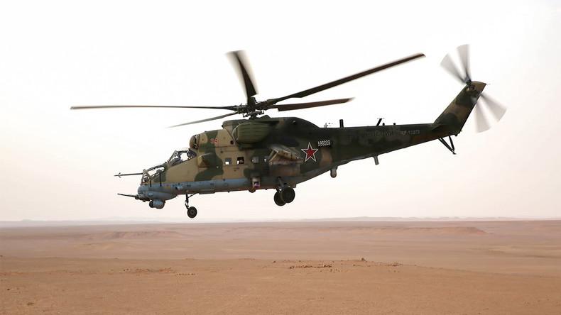 Un hélicoptère russe s'écrase en Syrie : les deux pilotes sont morts