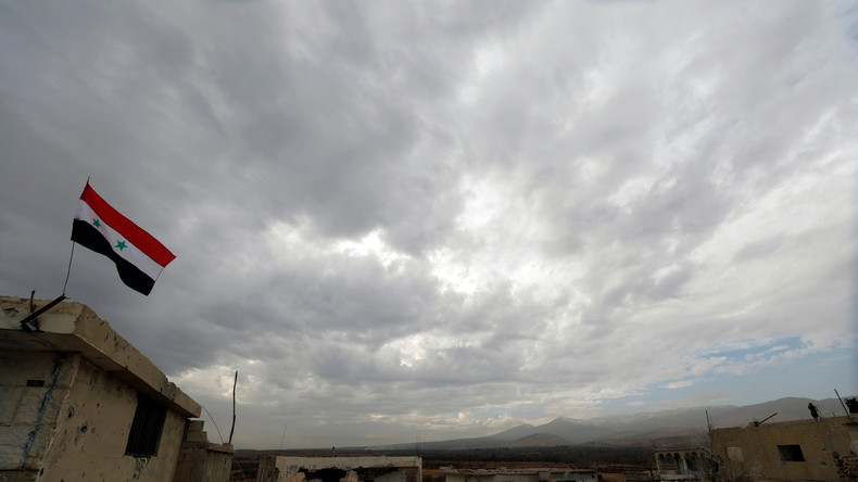 L'armée israélienne a mené des bombardements près d'un site militaire en Syrie