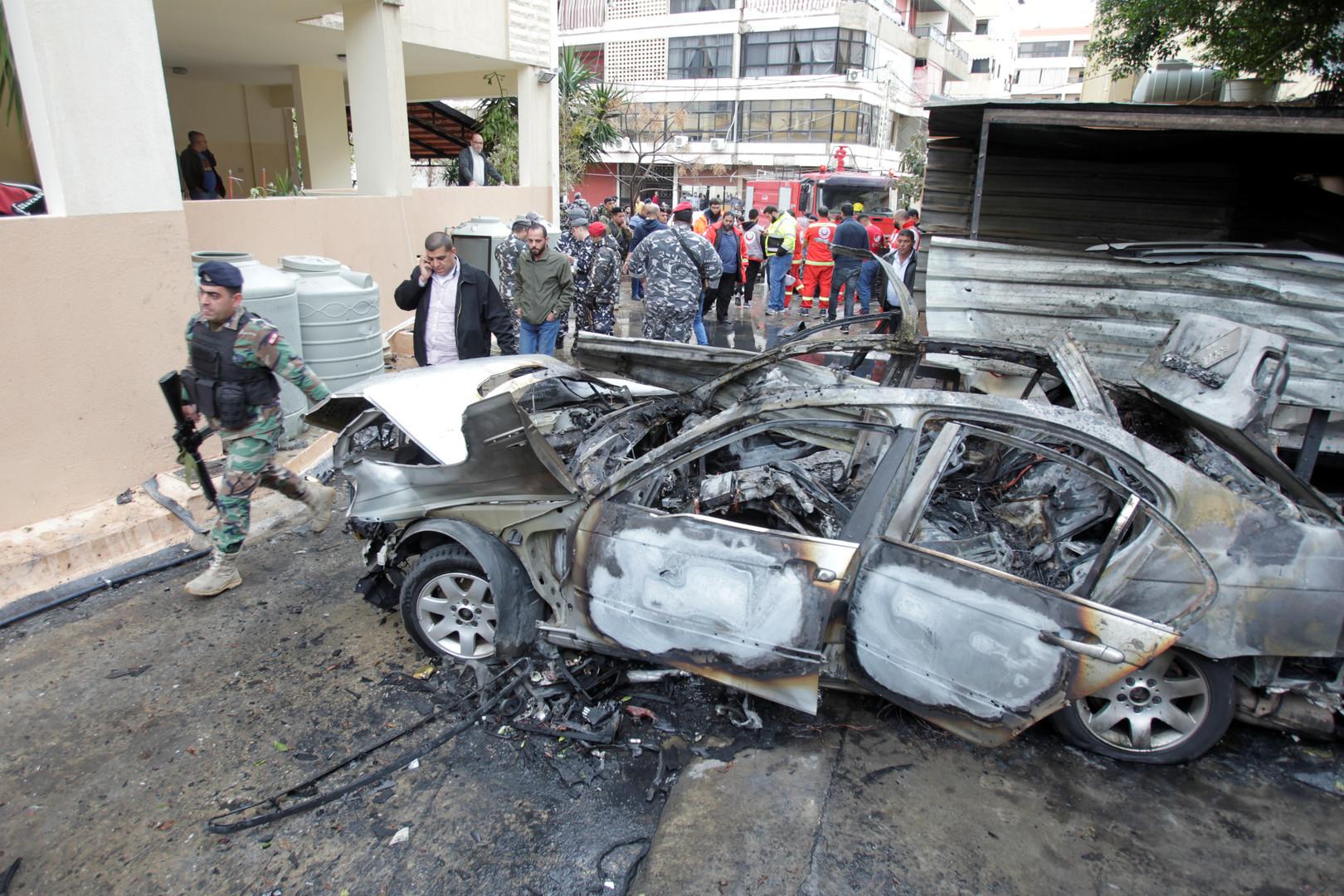 La voiture d'un leader du Hamas explose au Liban