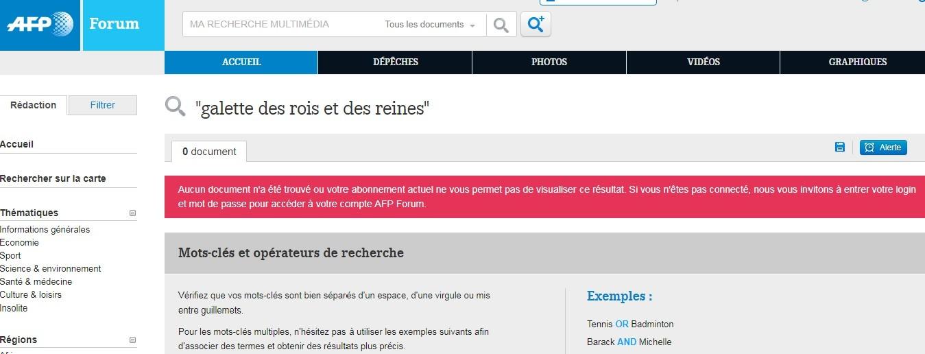 «Galette des rois et des reines» du couple Macron : l'AFP au cœur de la polémique sur Twitter