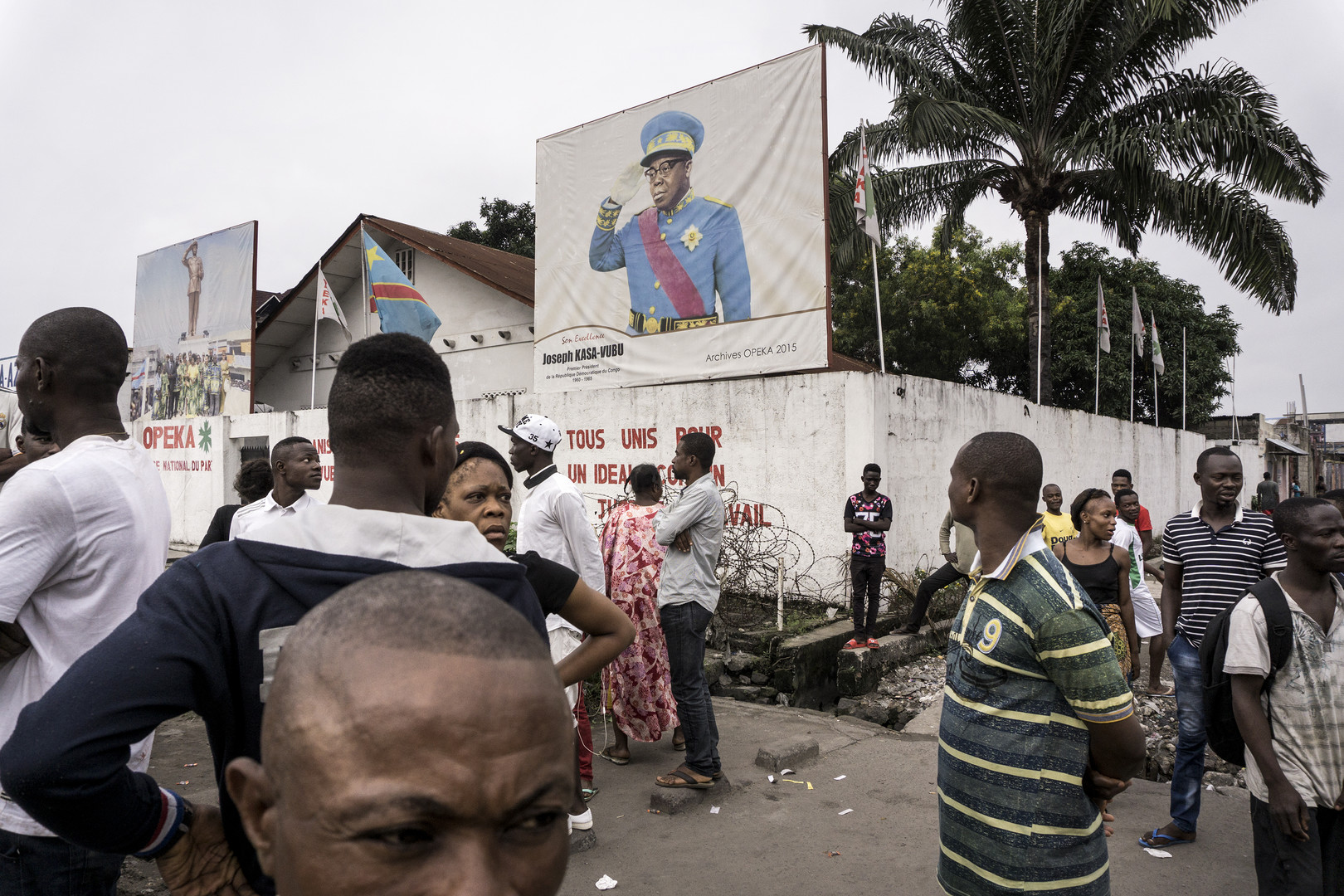Nouvelle marche contre Joseph Kabila réprimée à Kinshasa, au moins cinq morts selon l'ONU (IMAGES)