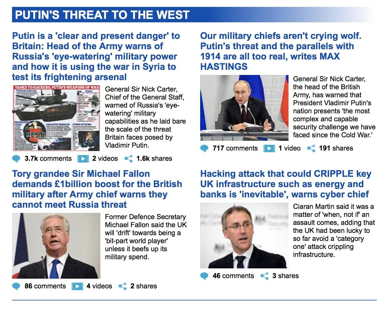 Besoin de plus d'argent pour l'armée ? Ce général britannique a la solution : la «menace russe»